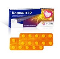 20 tablets Corvaltab tablets No. 20 Pharma Start, Free shipping